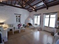 Pool Villa Selene in Skopelos Greece, living room 3, by Olive Villa Rentals