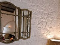 Pool Villa Selene in Skopelos Greece, mirror, by Olive Villa Rentals