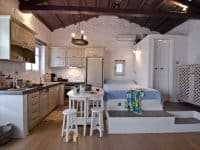 Pool Villa Selene in Skopelos Greece, bedroom 8, by Olive Villa Rentals