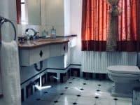 Villa Camelia in Spetses Greece, bathroom 3, by Olive Villa Rentals