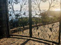 Villa Camelia in Spetses Greece, entrance, by Olive Villa Rentals