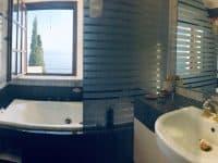 Villa Camelia in Spetses Greece, bathroom 6, by Olive Villa Rentals