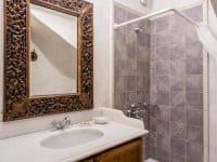 Villa Corinna in Spetses Greece, bathroom, by Olive Villa Rentals