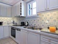 Villa Matilda in Spetses Greece, kitchen 2, by Olive Villa Rentals
