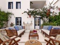 Villa Matilda in Spetses Greece, outside 3, by Olive Villa Rentals