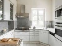 Villa Pegasus in Spetses Greece, kitchen, by Olive Villa Rentals