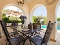Villa Veneta in Spetses Greece, table 2, by Olive Villa Rentals