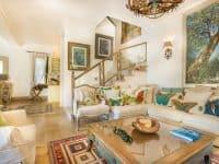 Villa Veneta in Spetses Greece, living room 4, by Olive Villa Rentals
