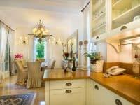 Villa Veneta in Spetses Greece, kitchen, by Olive Villa Rentals