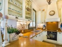 Villa Veneta in Spetses Greece, kitchen 2, by Olive Villa Rentals