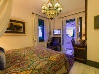 Villa Veneta in Spetses Greece, bedroom, by Olive Villa Rentals