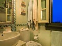 Villa Veneta in Spetses Greece, bathroom, by Olive Villa Rentals