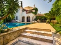 Villa Veneta in Spetses Greece, pool, by Olive Villa Rentals