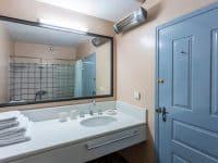Villa Zenais in Spetses Greece, bathroom, by Olive Villa Rentals