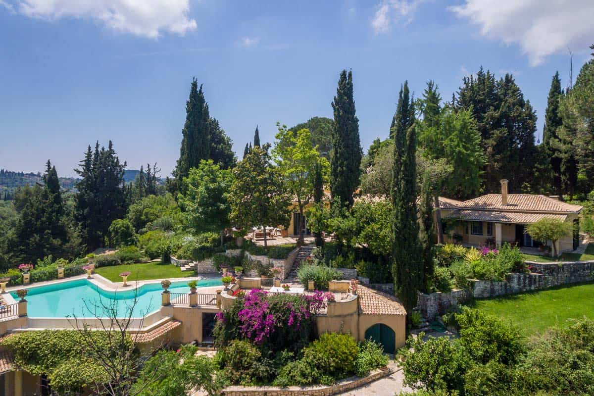 Villa Emeralda in Corfu Greece, house 5, by Olive Villa Rentals
