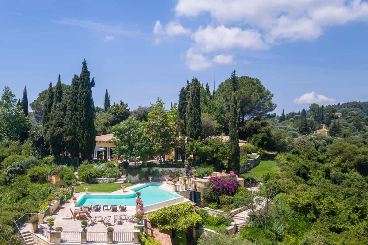 Villa Emeralda in Corfu Greece, house 7, by Olive Villa Rentals