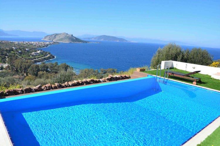 Villa-Iris-Villas-Aigina-olivevillarentals-pool-view