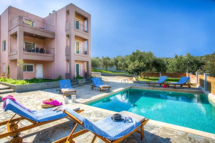 Villa -Thyme-Villas-chania-olivevillarentals-pool