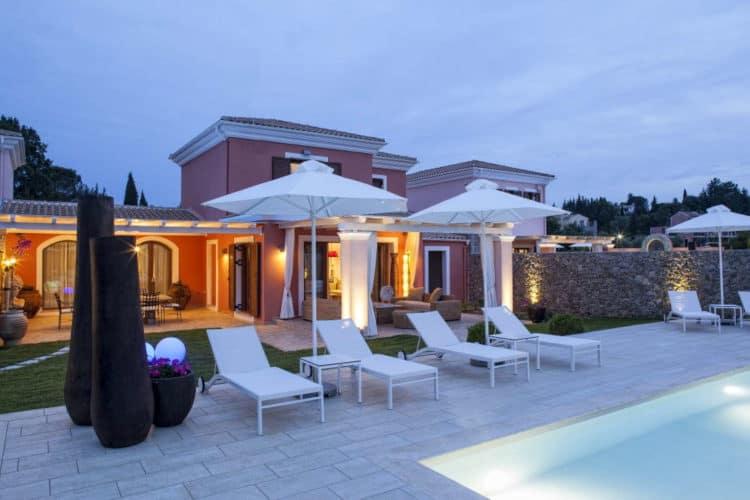 Villa-Delia-Villas-corfu-olivevillarentals-pool-sunbeds