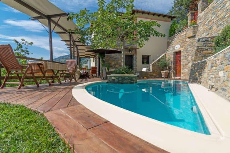 Milies-House-Villas-pelion-olivevillarentals-pool-view