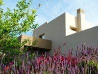Villa Azzuro in Aegina Greece, facade, by Olive Villa Rentals