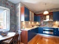 Villa Begonia in Hydra Greece, kitchen, by Olive Villa Rentals
