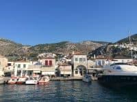 Villa Begonia in Hydra Greece, Hydra port, by Olive Villa Rentals