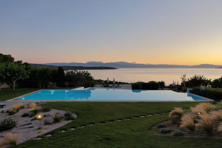 Villa- Magnolia -Porto Heli-by-Olive-Villa-Rentals-pool-area