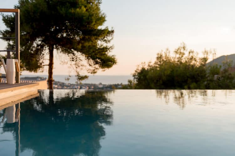 Villas-athens-olivevillarentals-Soledad-pool -view