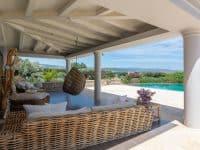 Villa Camille in Porto Heli, dining area, by Olive Villa Rentals