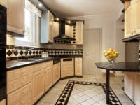 Villa Aristi in Athens, kitchen, by Olive Villa Rentals