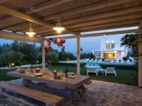 Villa-Celeste-Athens-by-Olive-Villa-Rentals-exterior-night-dining
