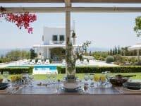 Villa-Celeste-Athens-by-Olive-Villa-Rentals-exterior-dining-table