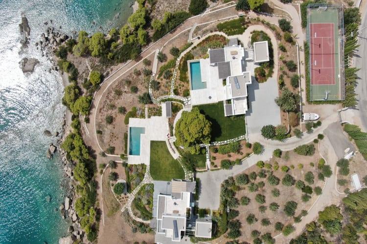 small-Villa- Hector & Artemis Complex -Porto Heli-by-Olive-Villa-Rentals