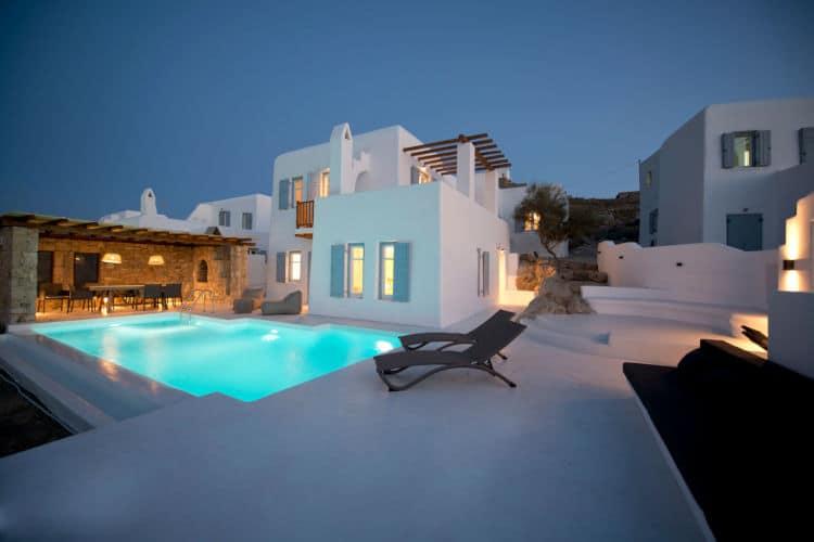 Villas-Mykonos-Olive Villa Rentals-Villa Tucana-pool