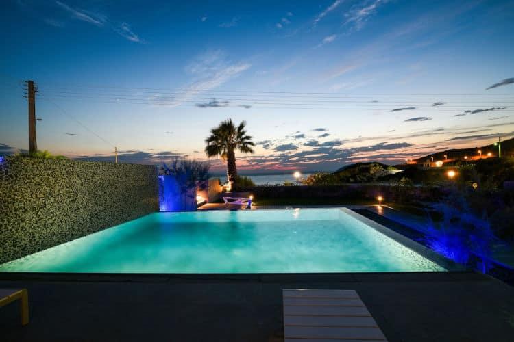 small Villas-Olive Villa Rentals-Athens-Villa Soraya-sunset views