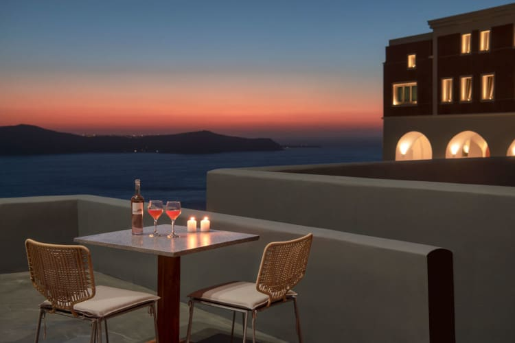 small-Villa-Cassia-Santorini-by-Olive-Villa-Rentals-outdoor-evening-sunset-views