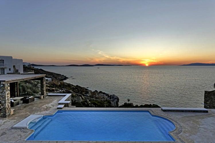 Villa-Dellos Mare-Mykonos-by-Olive-Villa-Rentals-sunset-views