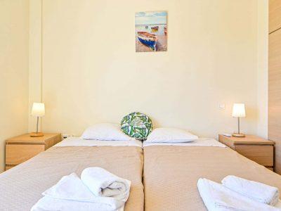 Villa Calypso in Aegina, bedroom, by Olive Villa Rentals
