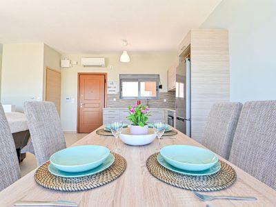 Villa Cybele in Aegina, kitchen, by Olive Villa Rentals