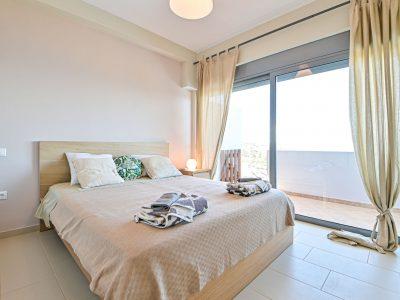 Villa Cybele in Aegina, bedroom, by Olive Villa Rentals