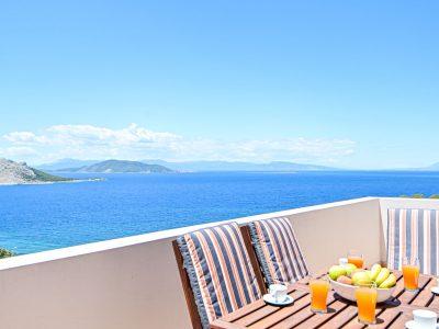 Villa Cybele in Aegina, view, by Olive Villa Rentals