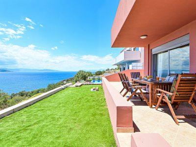 Villa Harmonia in Aegina, outdoor, by Olive Villa Rentals