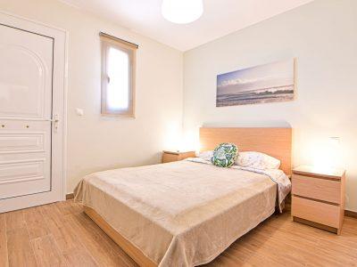 Villa Harmonia in Aegina Greece, bedroom, by Olive Villa Rentals