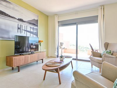 Villa Harmonia in Aegina, living room, by Olive Villa Rentals