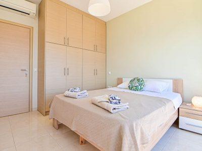 Villa Selene in Aegina, bedroom, by Olive Villa Rentals