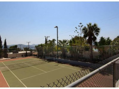 Villa Aristi in Athens, tennis court, by Olive Villa Rentals
