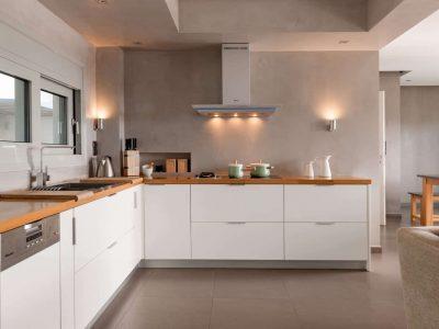 Villa Soledad in Athens, kitchen, by Olive Villa Rentals