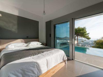 Villa Soledad in Athens, bedroom, by Olive Villa Rentals