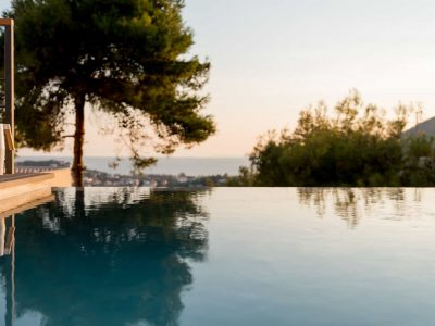Villa Soledad in Athens, pool, by Olive Villa Rentals